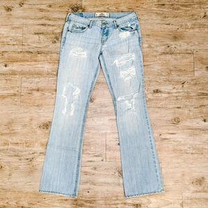 Make OFFER   Hollister Distressed Light Wash Jeans
